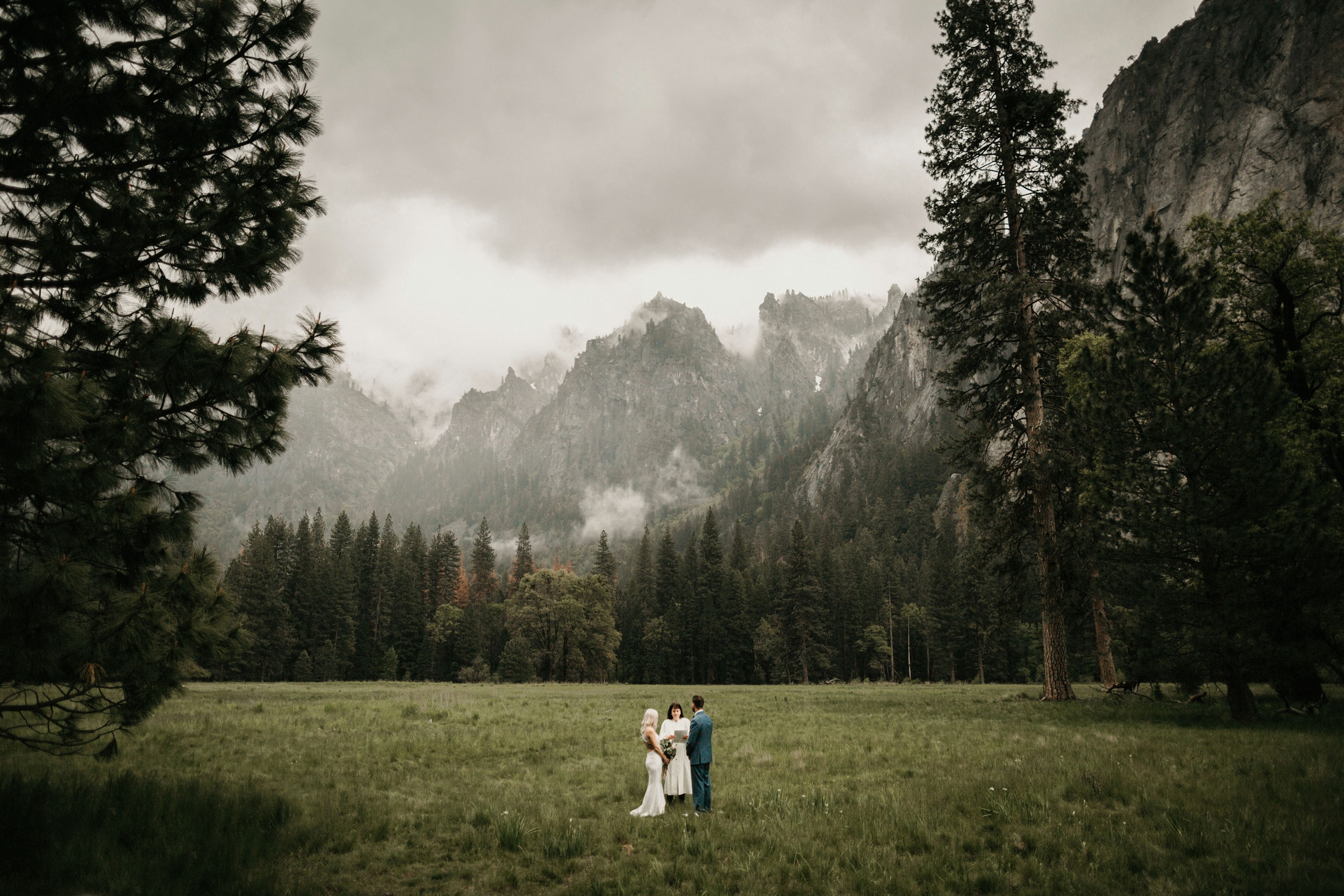 El Capitan Meadow Yosemite Elopement