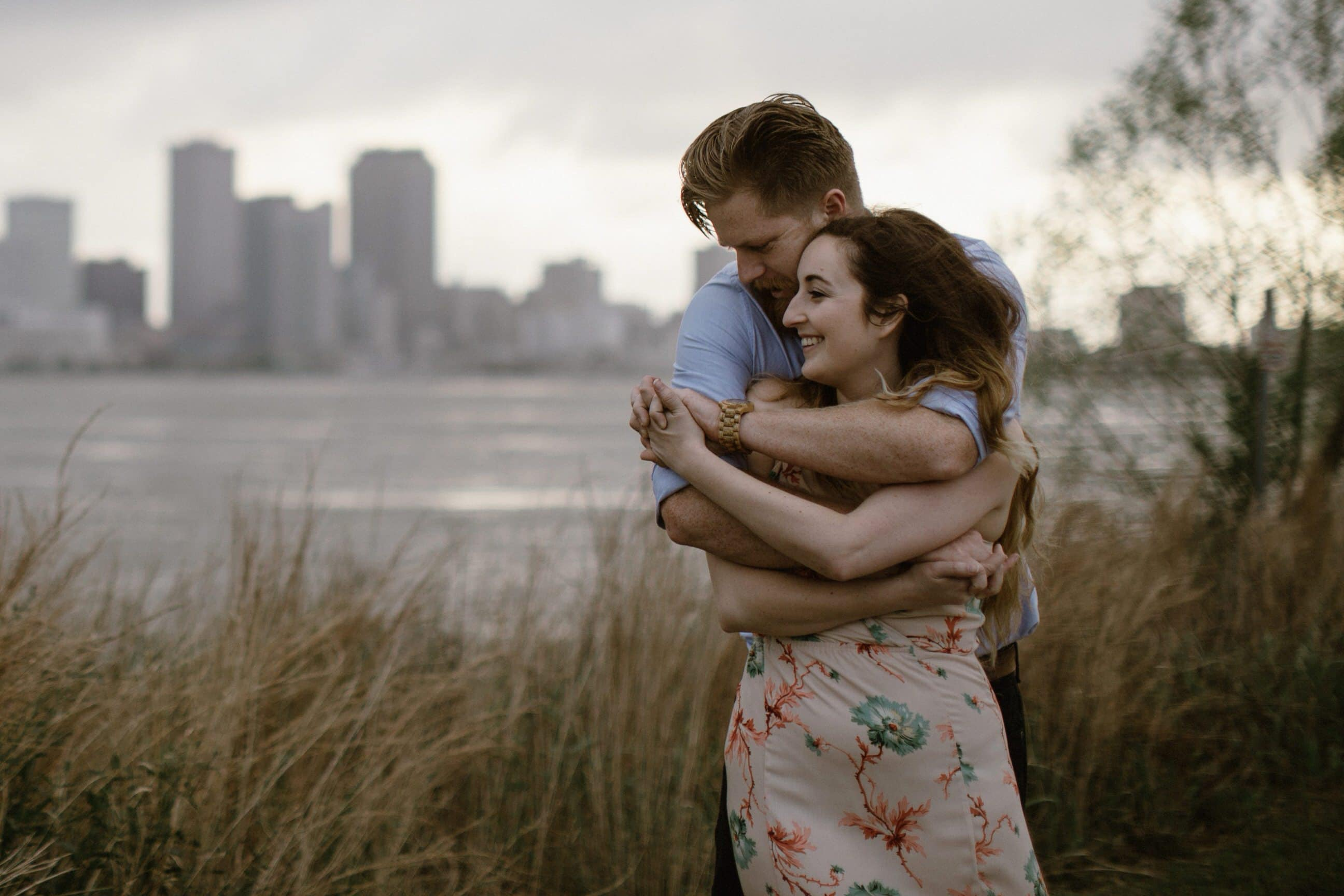 Moody Mississippi River Engagement Session