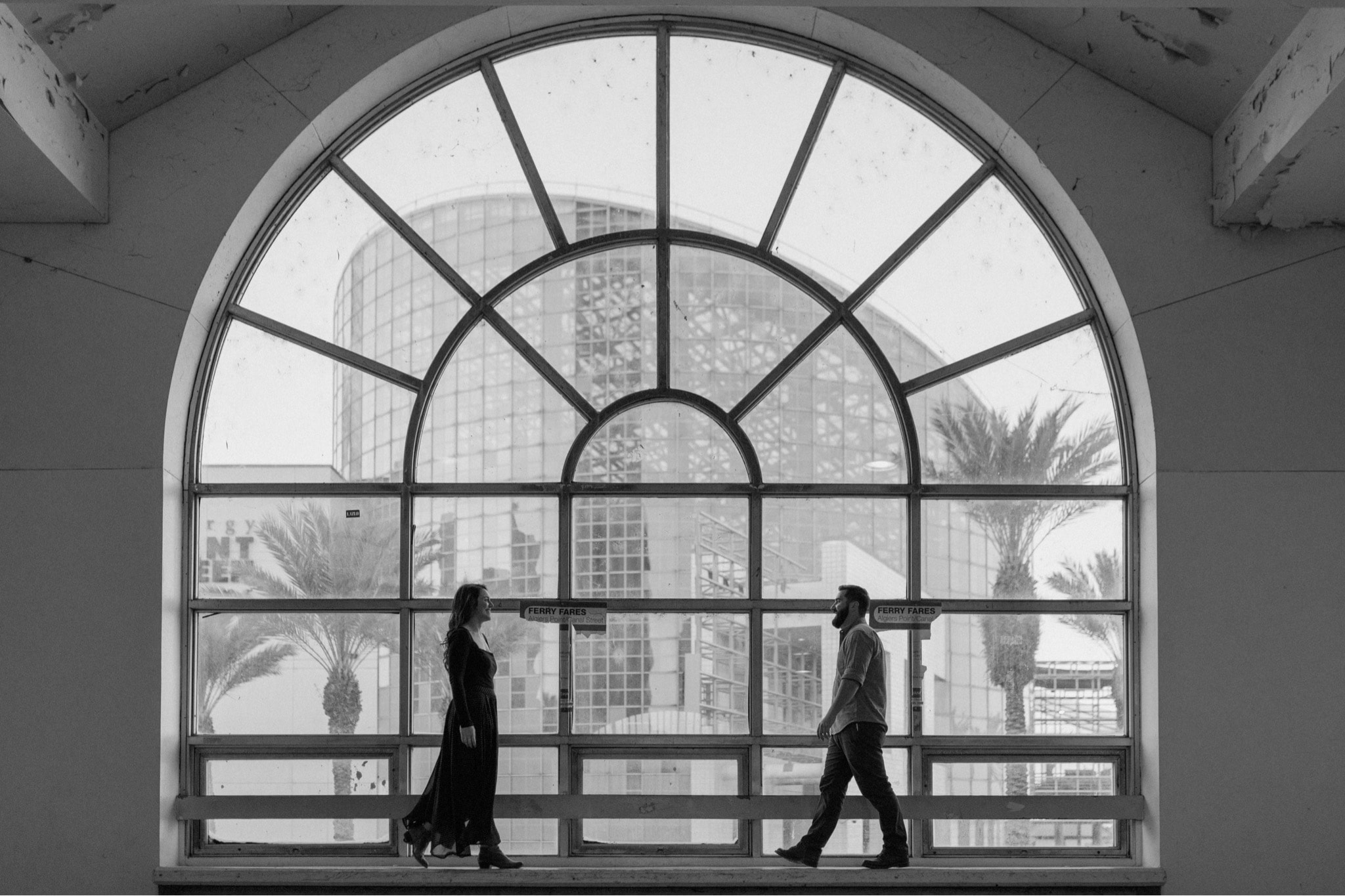 New Orleans Ferry Engagement Session
