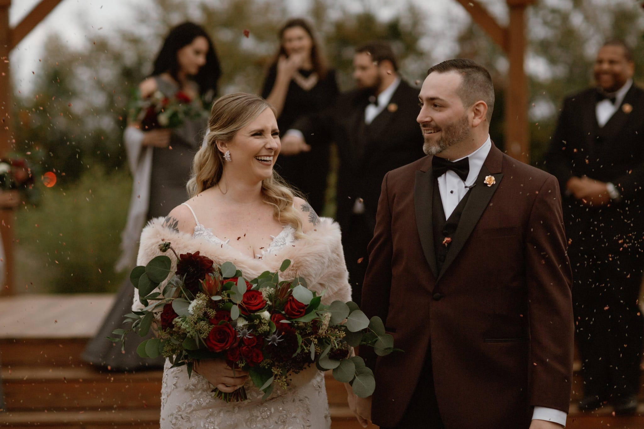 Lafayette Warehouse 535 wedding