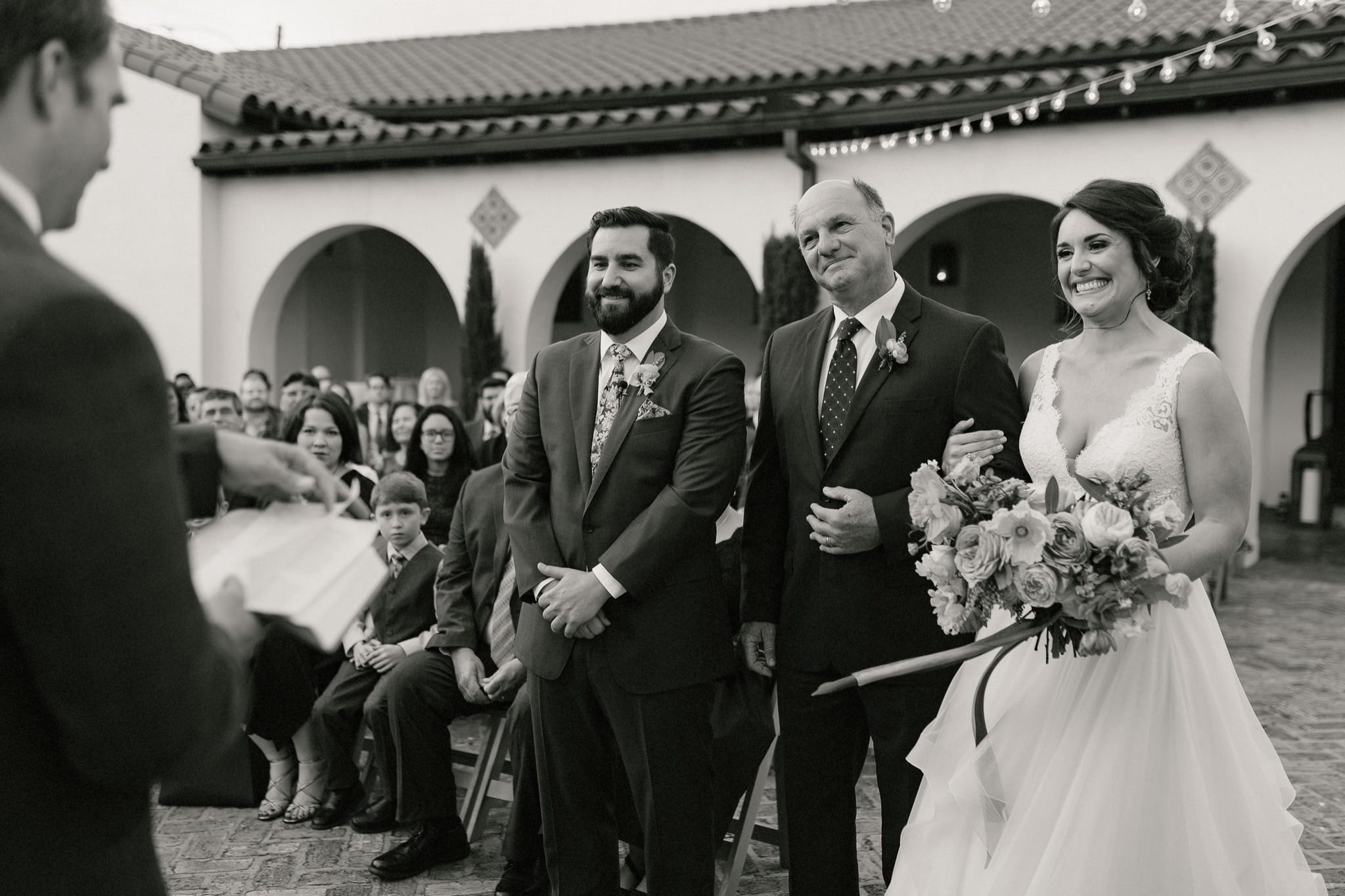 Springtime Il Mercato wedding
