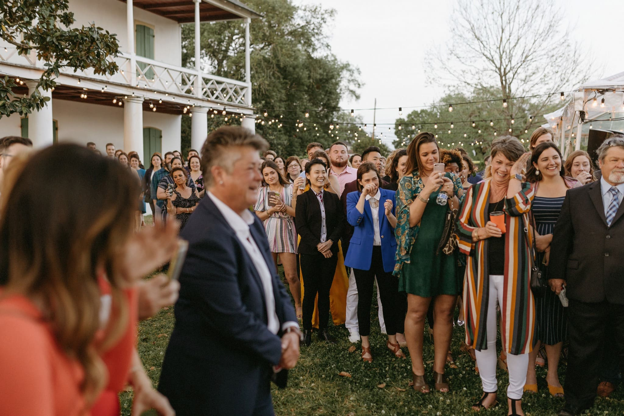 New Orleans Pitot House wedding