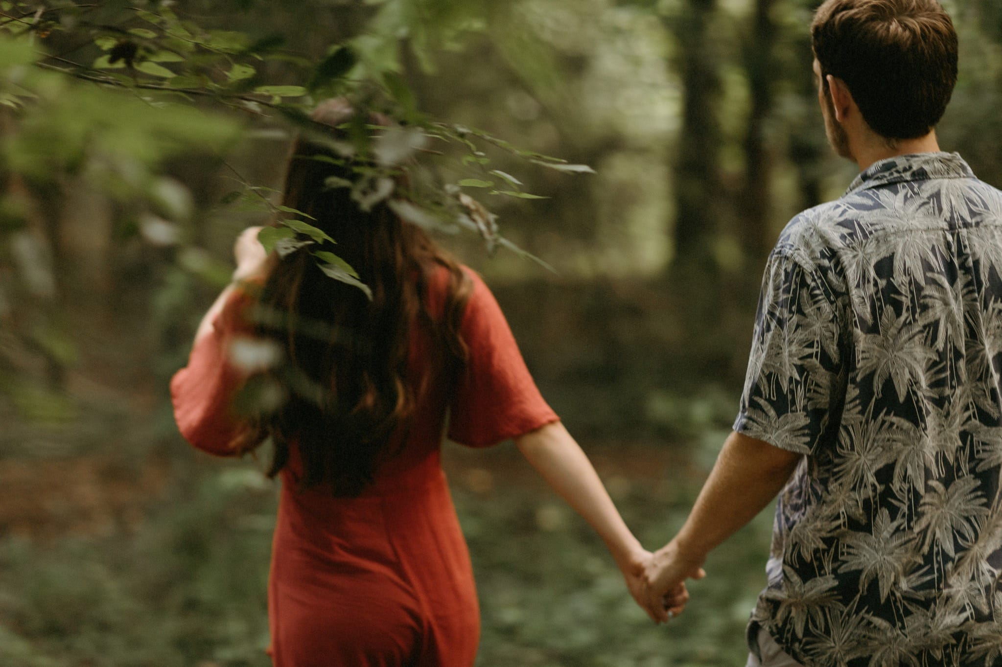 Couturie Forest City Park Engagement Session