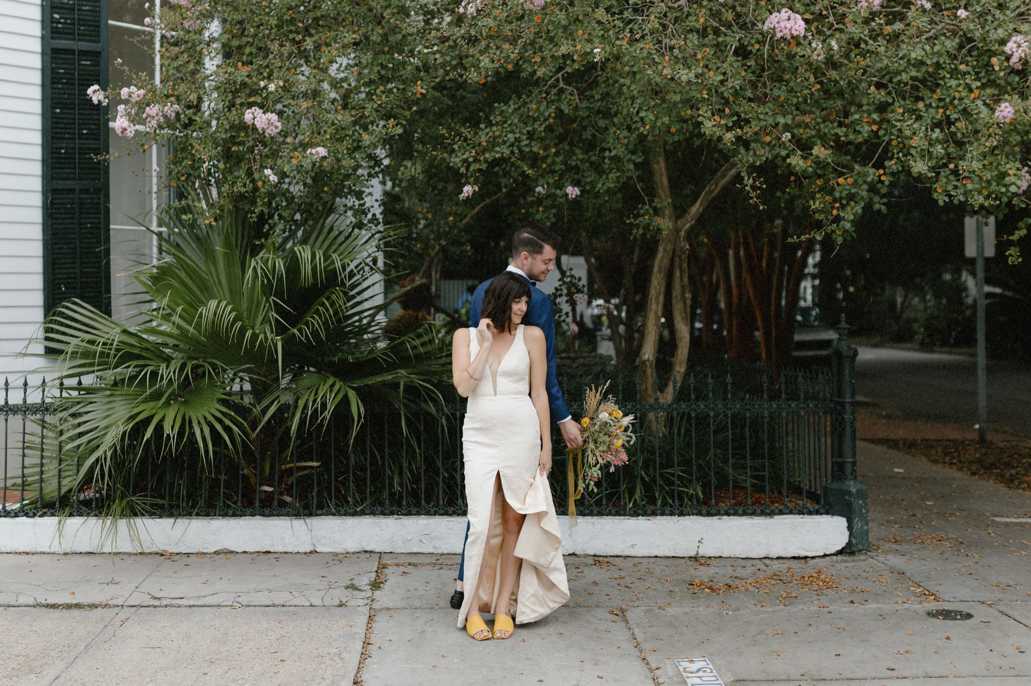 French Quarter Newlywed Session