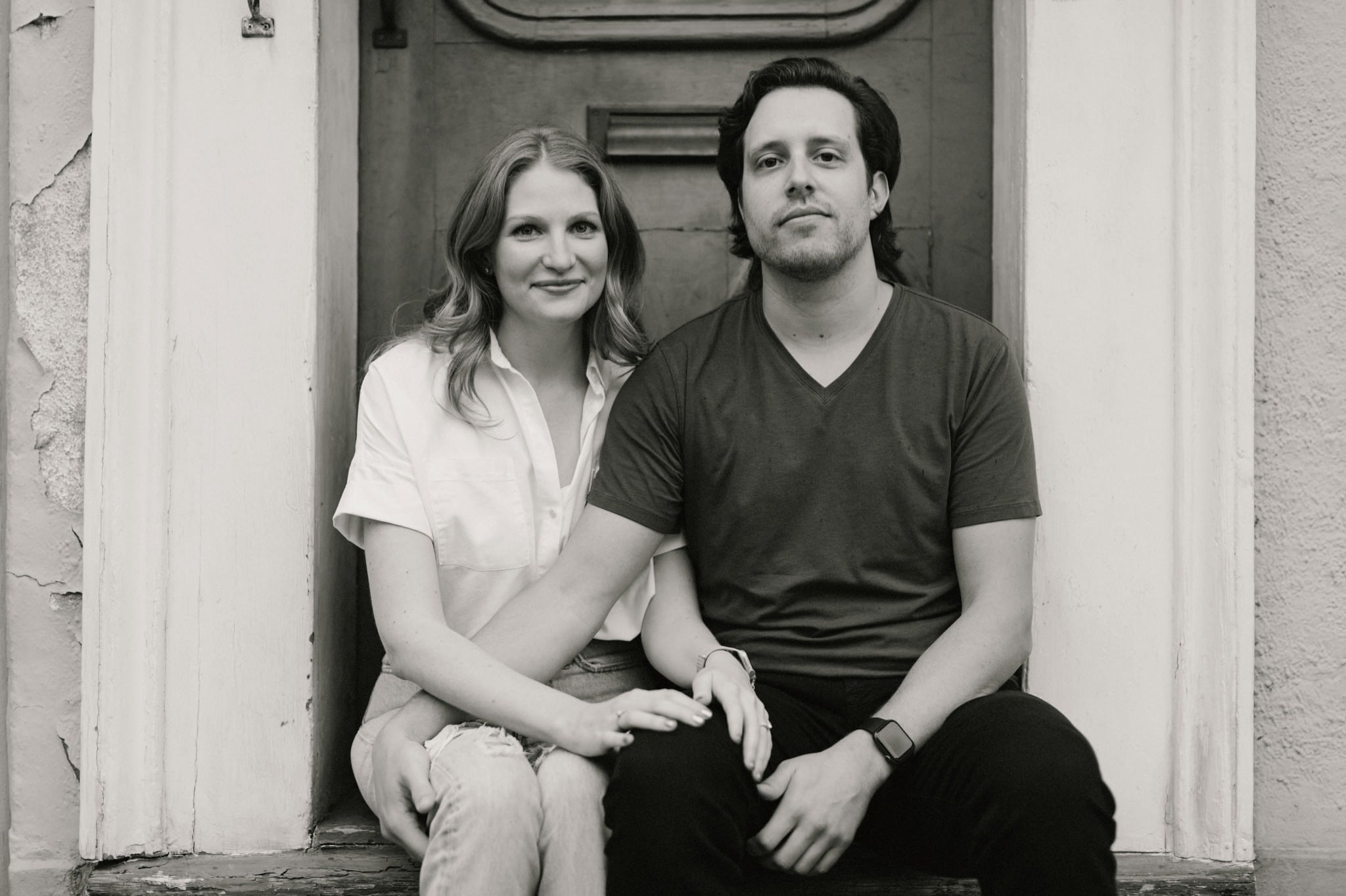 Cloudy French Quarter Engagement Session