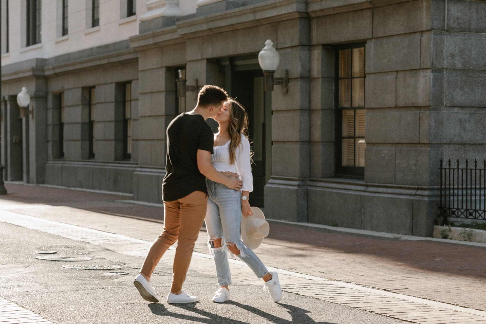 Downtown New Orleans Engagement Session