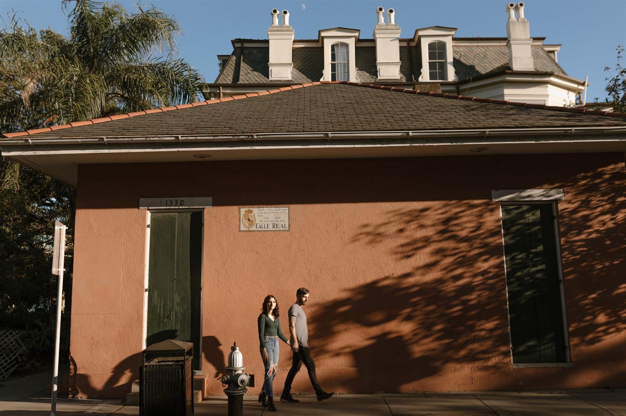 Sunny French Quarter Session