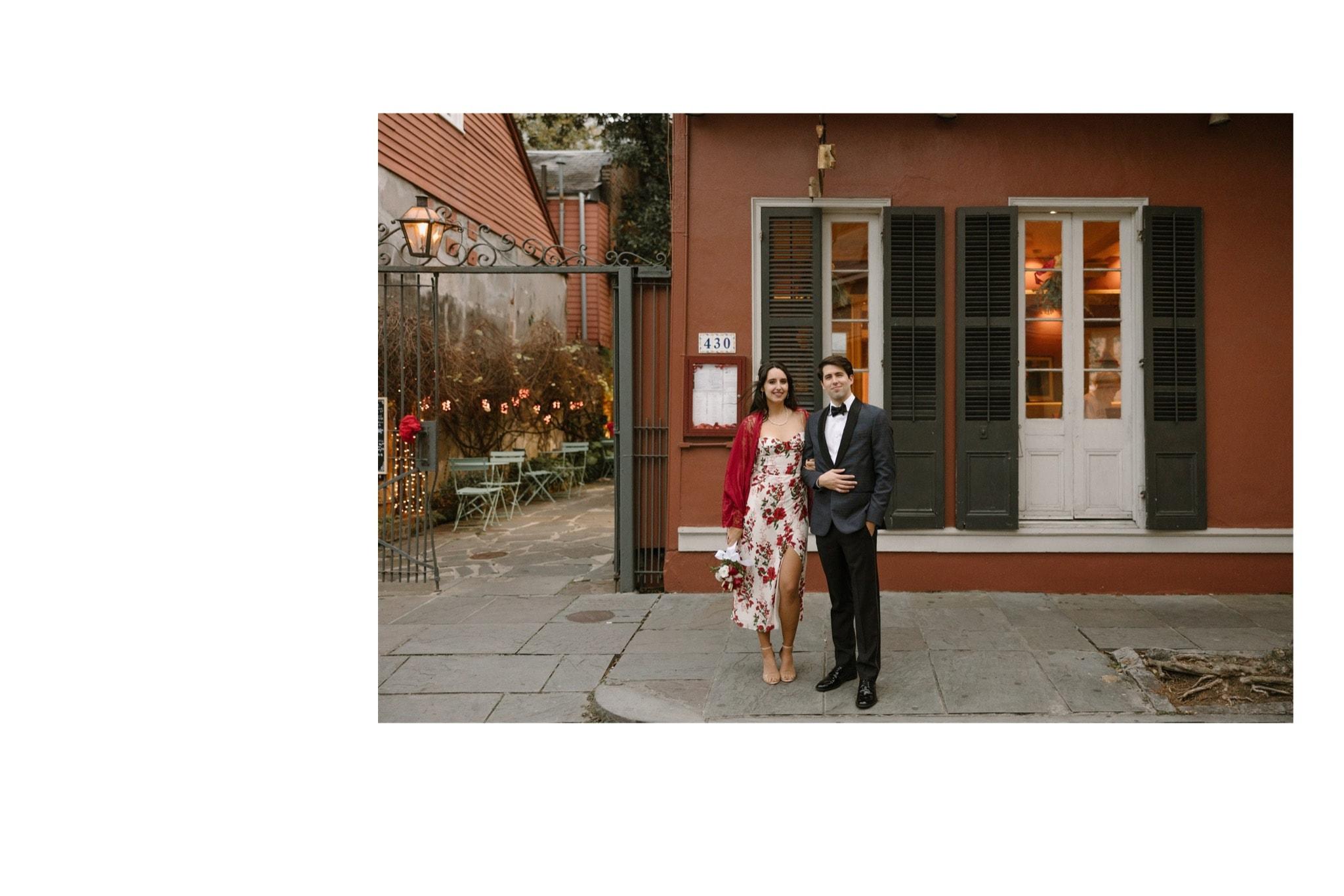 French Quarter Micro Wedding